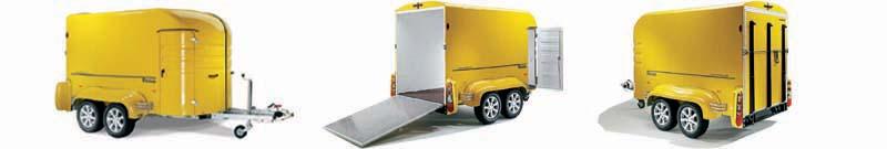 RETRO skříňový pro transport 1- 2 motorek / čtyřkolky